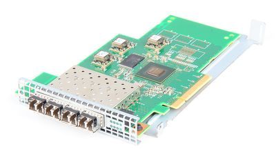 IBM PMC PM8032 Quad Port 8 Gbit/s Fiber Channel HBA PCI-E SFP+ - G41322 / 31P1334 / 31P1350