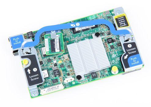 HP Smart Array P220i RAID Controller 6G SAS / 6G SATA - 512 MB FBWC Cache, Blade Card - 670026-001 – Bild 1