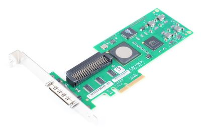 DELL LSI20320IE Single Channel U320 SCSI Host Bus Adapter / HBA, PCI-E - 0NU947 / NU947