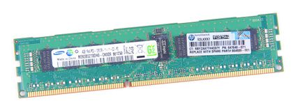 HP 4GB 1Rx4 PC3-12800R DDR3 Registered Server-RAM Modul REG ECC - 647648-071