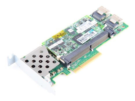 HP Smart Array P410 RAID Controller 6G SAS / 3G SATA - 512 MB FBWC Cache, PCI-E - 462919-001 - low profile – Bild 1