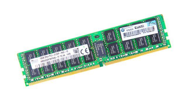 HP 16GB 2Rx4 PC4-2133P-R DDR4 Registered Server-RAM Modul R-DIMM REG ECC - 752369-081 / 774172-001 – Bild 1