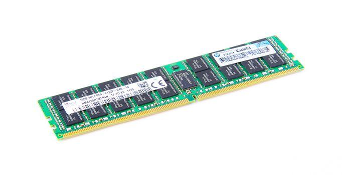 HP 16GB 2Rx4 PC4-2133P-R DDR4 Registered Server-RAM Modul R-DIMM REG ECC - 752369-081 / 774172-001 – Bild 5