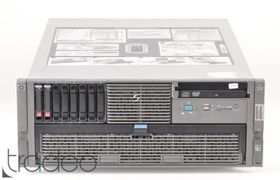HP ProLiant DL585 G2 Server 4x Opteron 8218 Dual Core 2.6 GHz, 64 GB RAM, 2x 146 GB SAS