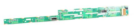 "HP 8x 2.5"" SAS Festplatten / Hard Disk Backplane Board - ProLiant DL360e / DL360p G8 / Gen8 - 667868-001"