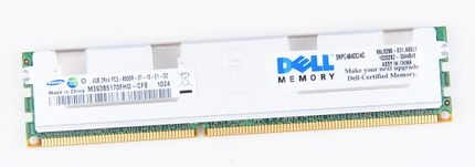 DELL 4GB 2Rx4 PC3-8500R DDR3 Registered Server-RAM Modul REG ECC - SNPG484DC/4G