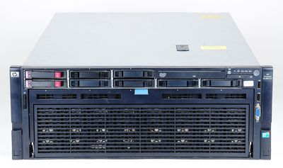 HP ProLiant DL580 G7 Server 4x Xeon X7550 8-Core 2.0 GHz, 64 GB DDR3 RAM, 2x 146 GB SAS 10K