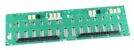 "DELL 15x 3.5"" SAS Festplatten / Hard Disk Backplane Board - PowerVault MD1000, MD3000, MD300i - JH544 / 0JH544"