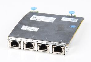 DELL 5720 Quad Port Gigabit Server Daughter Adapter / Netzwerkkarte - 0FM487 / FM487