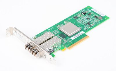 IBM QLE2562-IBMX Dual Port 8 Gbit/s Fibre Channel Host Bus Adapter / FC HBA, PCI-E - 42D0516
