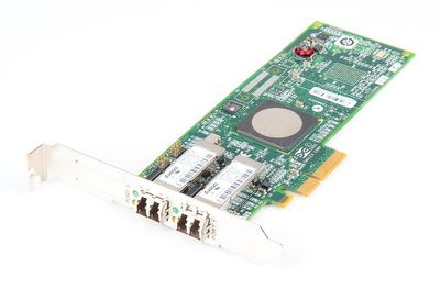 Emulex LightPulse LPE11002 Dual Port 4 Gbit/s FC Host Bus Adapter, PCI-E - FC1120005-10B