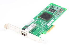 DELL QLE2460-DELL Single Port 4 Gbit/s Fibre Channel Host Bus Adapter / FC HBA, PCI-E - 0PF323 / PF323