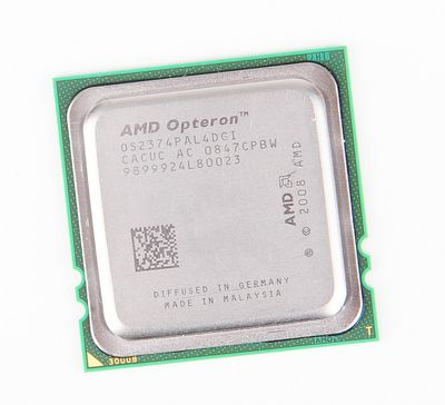 AMD OPTERON 2374 OS2374PAL4DGI Quad Core CPU 4x 2.2 GHz, 6 MB L3 Cache, Socket F