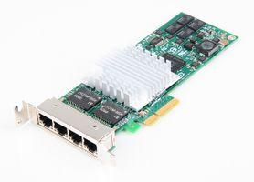 Intel PRO/1000 PT Quad Port Gigabit Server Adapter / Netzwerkkarte PCI-E - EXPI9404PTG2L20 - low profile