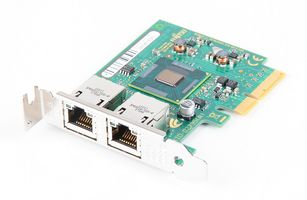 Fujitsu Dual Port Gigabit Server Adapter / Netzwerkkarte PCI-E - D2735-A11