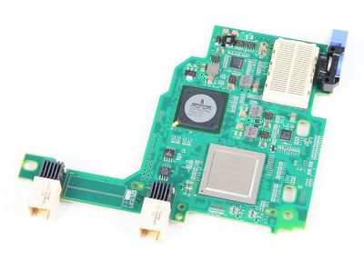 IBM / QLogic 1 Gbit/s Ethernet + 8 Gbit/s FC / Fibre Channel Expansion Card - BladeCenter HS/HX - 44X1943