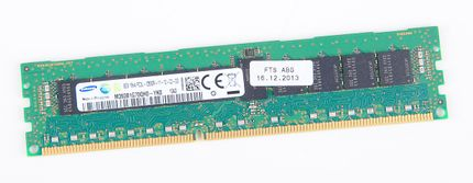Samsung 8GB 1Rx4 PC3L-12800R DDR3 Registered Server-RAM Modul REG ECC - M393B1G70QH0-YK0