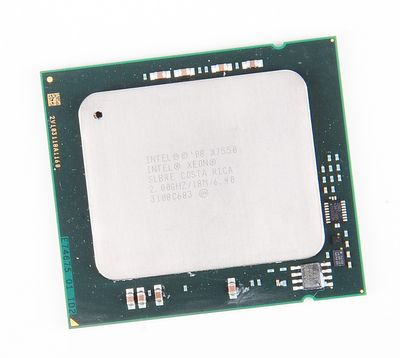 Intel Xeon X7550 8-Core CPU 8x 2.00 GHz, 18 MB SmartCache, Socket 1567 - SLBRE