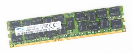 Samsung 16 GB 2Rx4 PC3-12800R DDR3 Registered Server-RAM Modul REG ECC - M393B2G70BH0-CK0