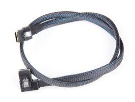 SAS-Kabel / Cable SFF-8087 - 1x links gewinkelt, 1x normaler Anschluss, 75cm