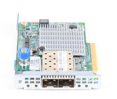 HP 530FLR-SFP+ Dual Port 10 Gbit/s SFP+ Server Netzwerkkarte FlexibleLOM Adapter - 649869-001 – Bild 4