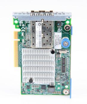 HP 530FLR-SFP+ Dual Port 10 Gbit/s SFP+ Server Netzwerkkarte FlexibleLOM Adapter - 649869-001 – Bild 5