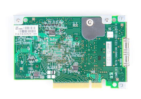 HP 530FLR-SFP+ Dual Port 10 Gbit/s SFP+ Server Netzwerkkarte FlexibleLOM Adapter - 649869-001 – Bild 6