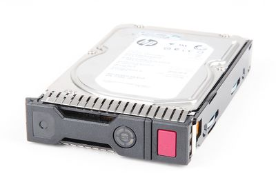 "HP 3000 GB / 3 TB 6G 7.2K SATA 3.5"" Hot Swap Festplatte / Hard Disk - 628182-001 - Gen8 / Gen9"