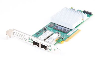 HP NC523SFP Dual Port 10 Gbit/s SFP+ Server Adapter / Netzwerkkarte PCI-E - 593717-B21 / 593715-001