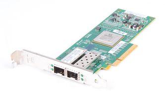 IBM QLE8142-IBMX Dual Port 10 Gbit/s SFP+ SR CNA Server Adapter / Netzwerkkarte PCI-E - SAN + LAN - 42C1802
