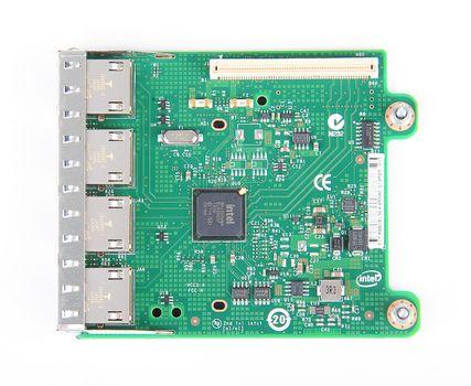 DELL i350-T4 Quad Port Gigabit Server Daughter Adapter / Netzwerkkarte - 0R1XFC / R1XFC – Bild 5