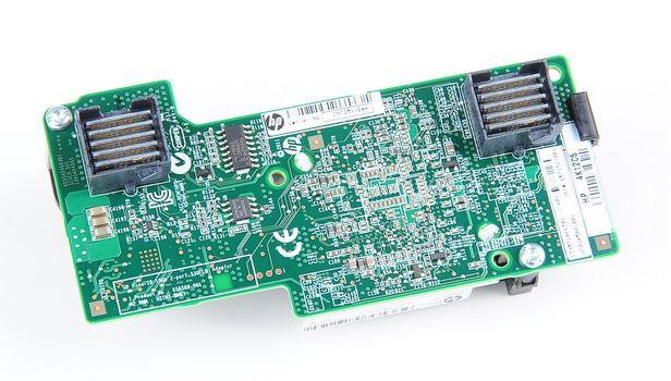 HP FlexFabric 530FLB Dual Port 10 Gbit/s Netzwerkkarte / LOM Adapter - Blade Gen8 / Gen9 - 657132-001 – Bild 3