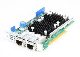 HP FlexFabric 533FLR-T Dual Port 10 Gbit/s RJ45 Ethernet Server Netzwerkkarte FlexibleLOM Adapter - 701534-001