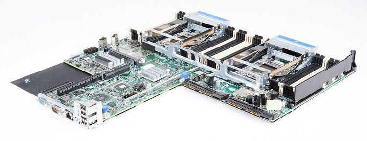 HP ProLiant DL360p Gen8 / G8 Mainboard / Motherboard / System Board - 718781-001 – Bild 1