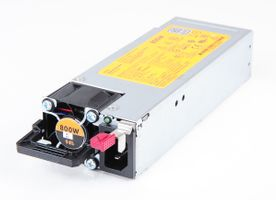 HPE 800 Watt Hot Swap Netzteil / Hot-Plug Power Supply - ProLiant DL360 / DL380 / ML350 Gen9 / Gen10 - 754381-001