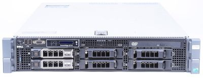 DELL PowerEdge R710 Server 2x Xeon X5675 Six Core 3.06 GHz, 16 GB DDR3 RAM, 2x 2000 GB SAS 7.2K