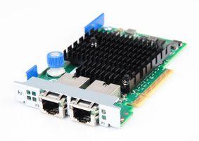 HPE 561FLR-T Dual Port 10 Gbit/s RJ45 Ethernet Server Netzwerkkarte FlexibleLOM Adapter - 701525-001
