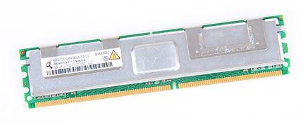 Qimonda 8 GB 4Rx4 PC2-5300F DDR2 RAM Modul FB-DIMM ECC