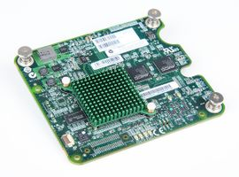 HP FlexFabric NC551m Dual Port 10 Gbit/s Mezzanine Type I Ethernet Adapter / Blade Netzwerkkarte - 580238-001