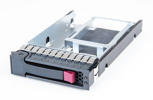 "HP 2.5"" to 3.5"" SAS / SATA Hot Swap Festplatten-Rahmen / Hard Disk Tray - Server / Storage System - 611469-001"