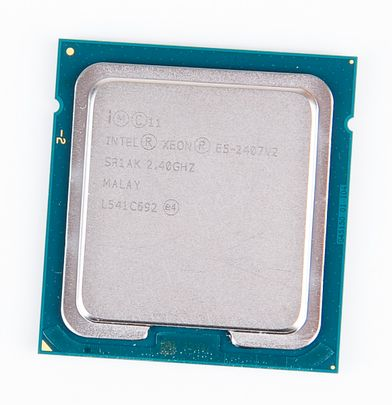 Intel Xeon E5-2407v2 Quad Core CPU 4x 2.4 GHz , 10 MB L3 Cache, Socket 1356 - SR1AK