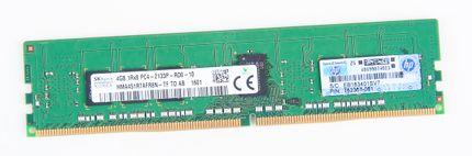 HP 4GB 1Rx8 PC4-2133P-R / PC4-17000R DDR4 Registered Server-RAM Modul REG ECC - 752367-081 / 774169-001