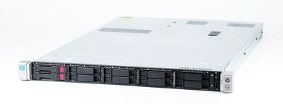 HP ProLiant DL360p Gen8 Server 2x Xeon E5-2660v2 10-Core 2.2 GHz, 16 GB DDR3 RAM, 2x 146 GB SAS 10K