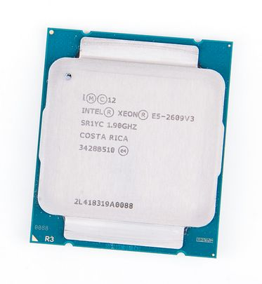 Intel Xeon E5-2609v3 Six Core CPU 6x 1.90 GHz, 15 MB SmartCache, Socket 2011-3 - SR1YC