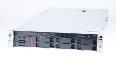 HP ProLiant DL380p Gen8 Server 2x Xeon E5-2640 Six Core 2.5 GHz, 16 GB DDR3 RAM, 2x 2000 GB SAS 7.2K
