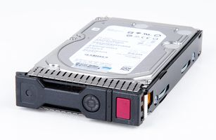 "HPE 6TB / 6000 GB 6G 7.2K SATA 3.5"" Hot Swap Festplatte / Hard Disk mit Smart Carrier - 765251-002"
