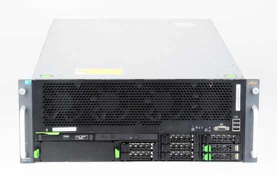 Fujitsu Primergy RX600 S6 Server 4x Xeon E7-4870 10-Core 2.4 GHz, 64 GB DDR3 RAM, 2x 146 GB SAS 10K – Bild 1