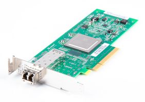 Fujitsu QLE2560-F Single Port 8 Gbit/s Fibre Channel Host Bus Adapter / FC HBA, PCI-E - low profile
