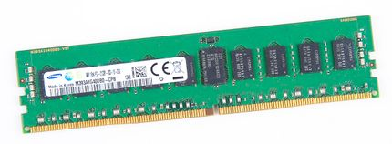 Samsung 8GB 1Rx4 PC4-2133P-R / PC4-17000R DDR4 Registered Server-RAM Modul REG ECC - M393A1G40DB0-CPB