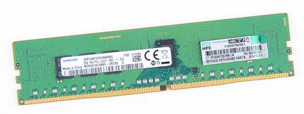 HPE 8GB 1Rx8 PC4-2400T-R / PC4-19200R DDR4 Registered Server-RAM Modul REG ECC - 809080-091 / 819410-001